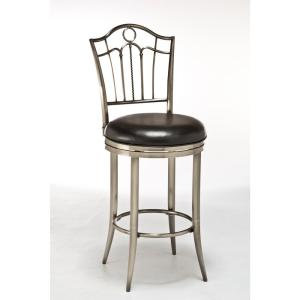 Hillsdale Furniture Portland 26 In Swivel Counter Stool In Antique