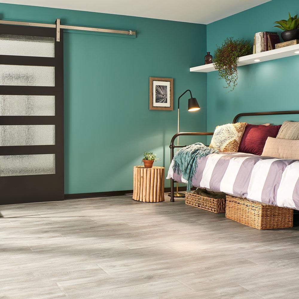 Outlast+ Waterproof Soft Oak Glazed 10 mm T x 7.48 in. W x 47.24 in. L Laminate Flooring (19.63 sq. ft. / case)