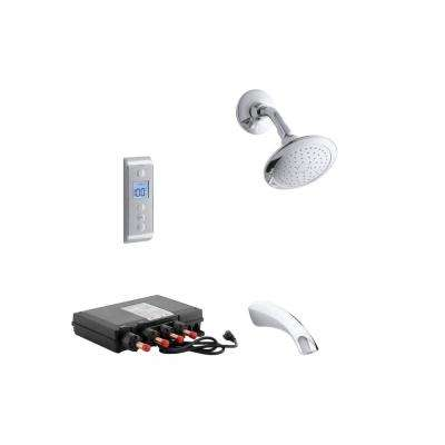Mistos DTV Prompt Digital Single-Handle 1-Spray Tub and Shower Faucet System in Polished Chrome (Valve Included)