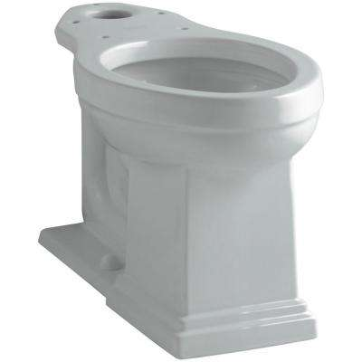 Tresham Comfort Height Elongated Toilet Bowl Only in Ice Grey