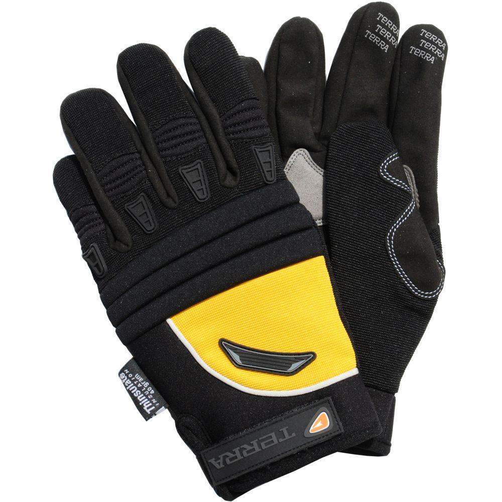 Fabric Mechanics/Utility Extra Large Work Gloves