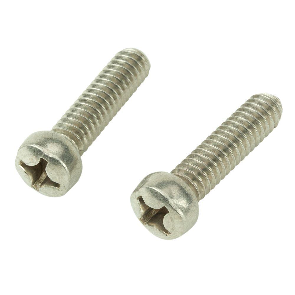 #6-32 x 1/2 in. Phillips Fillister-Head Machine Screws (2-Pack)