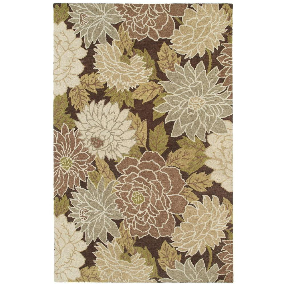 Kaleen Botany Putina Brown 3 ft. x 5 ft. Area Rug