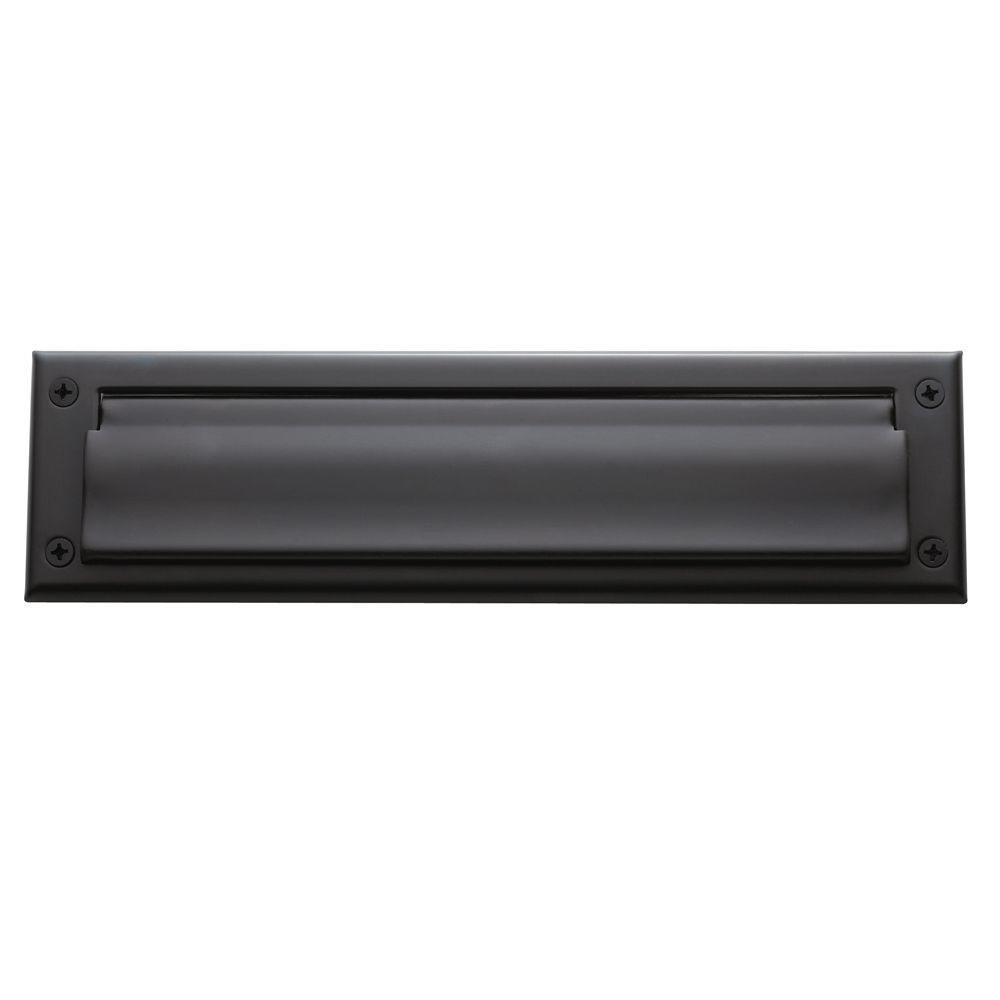 Package Size Hinged Letter Box Plate Oil Rubbed Bronze