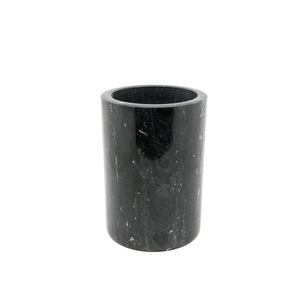4.5 in. x 6 in. H Wine Cooler in Black Marble