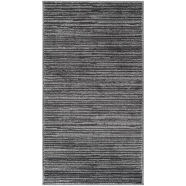 Vision Gray 2 ft. x 4 ft. Area Rug