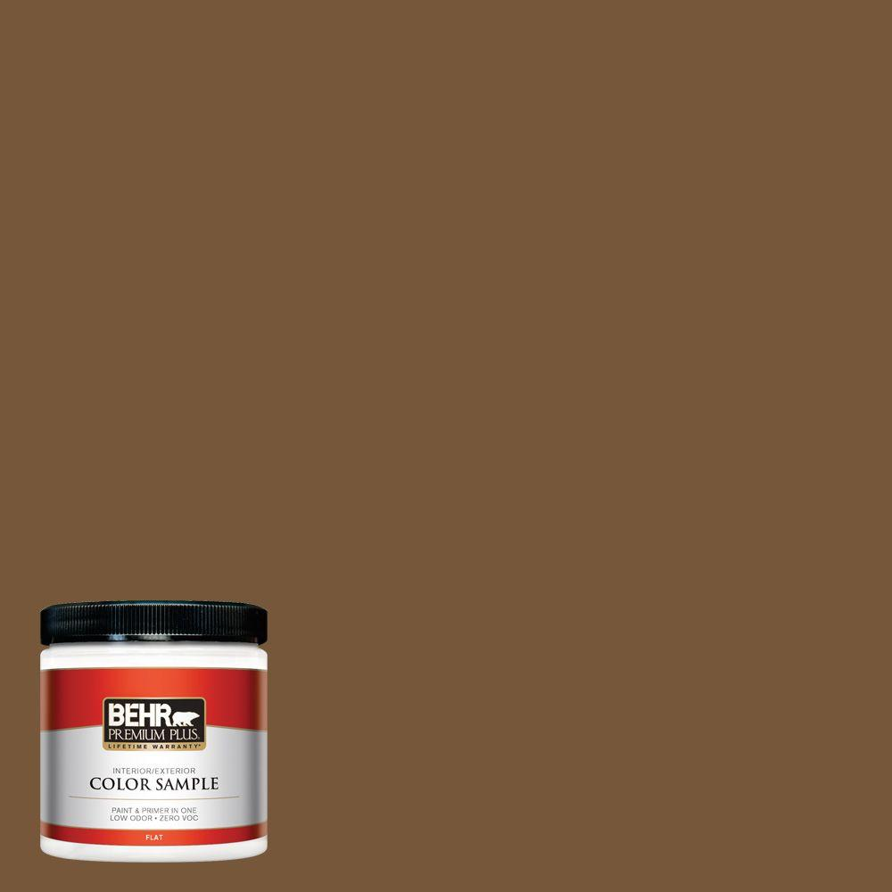 8 oz. #290F-7 Wooden Cabin Interior/Exterior Paint Sample