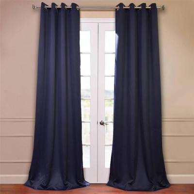 navy and white drapes cream semiopaque navy blue curtains drapes window treatments the home depot