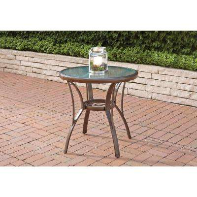 Hampton Bay Glass Patio Tables Patio Furniture The