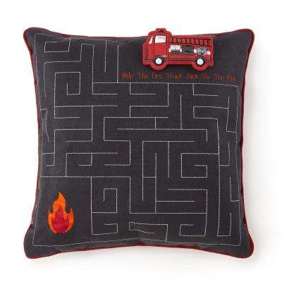 Firefighter Rescue Interactive 16 in. Pillow