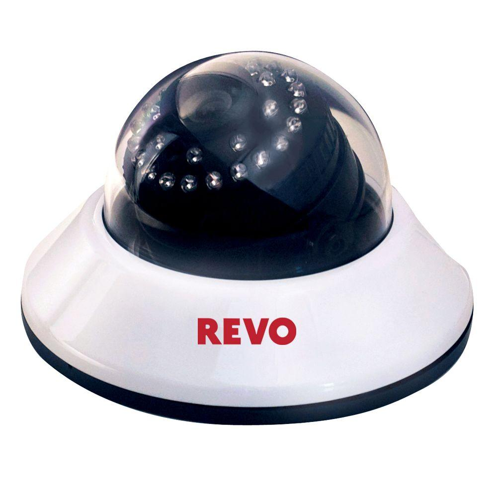 Revo Quick Connect 600 TVL Indoor Dome Surveillance Camera