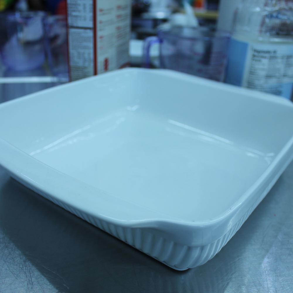 Bianco 11.25 in. x 10.25 in. Square Baking Dish