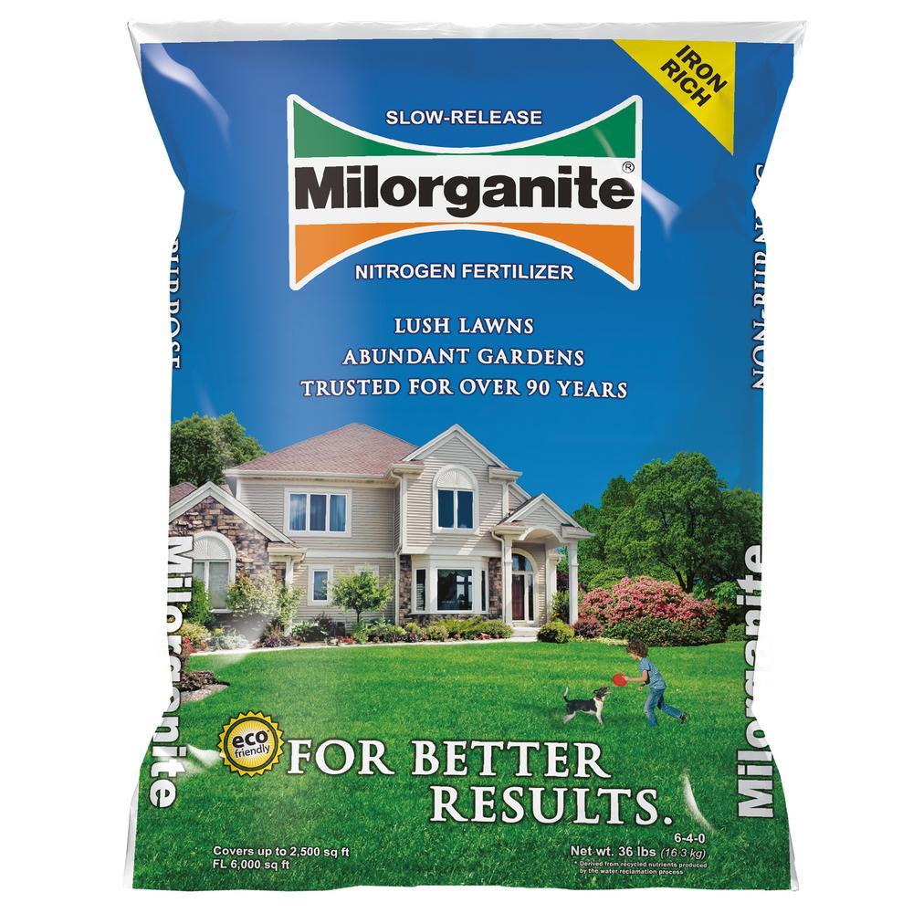 36 lb. Slow-Release Nitrogen Fertilizer