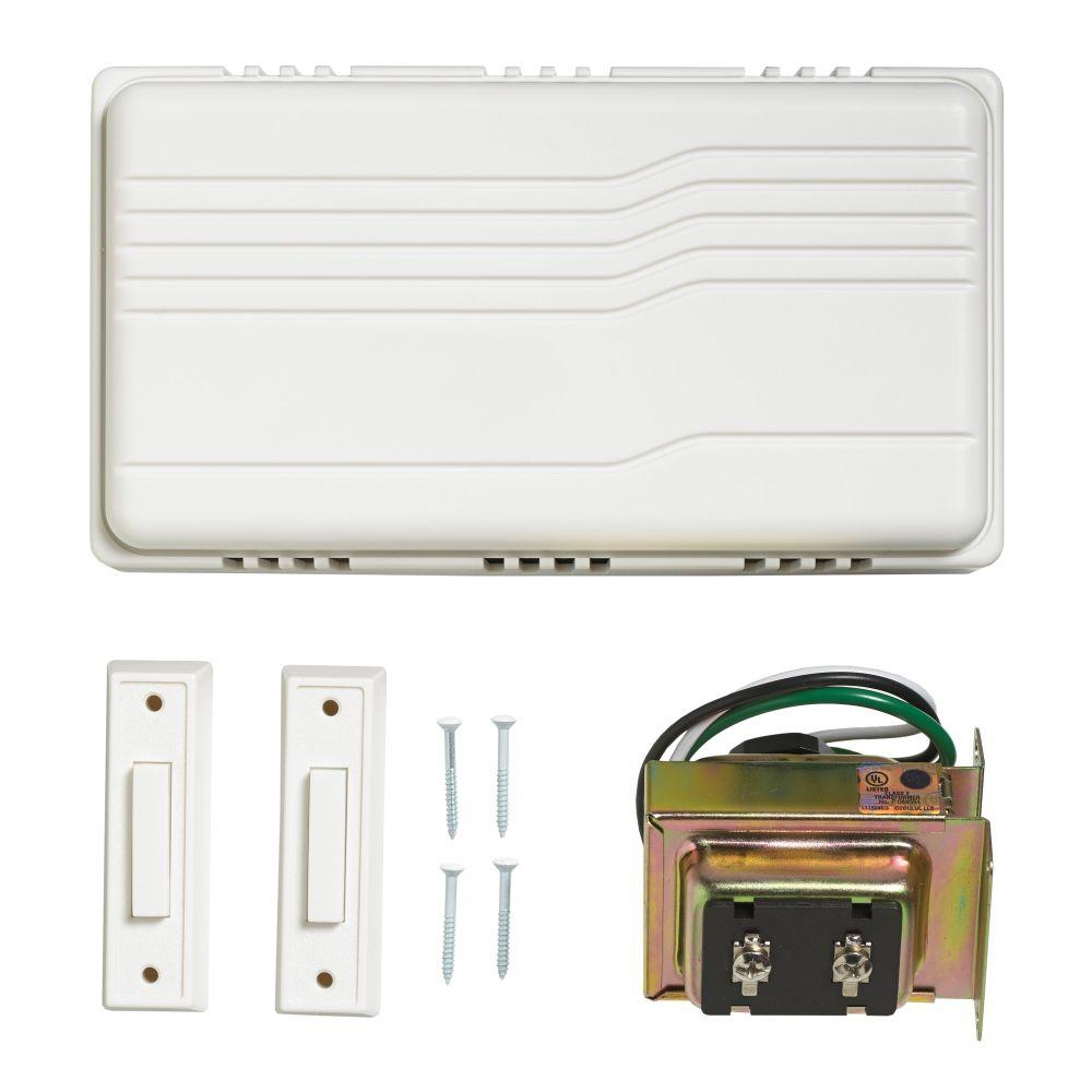 Wired Door Bell Contractor Kit 216598 Befail Wiring Chimes In Parallel