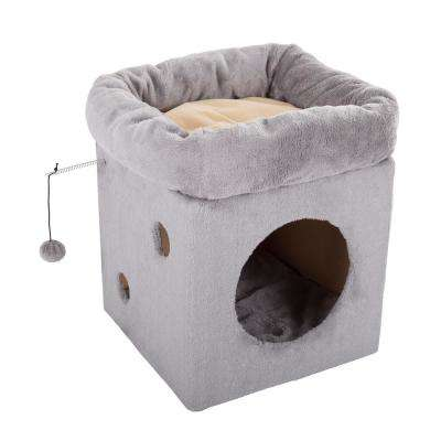 Cat Condo with 2 Removable Beds