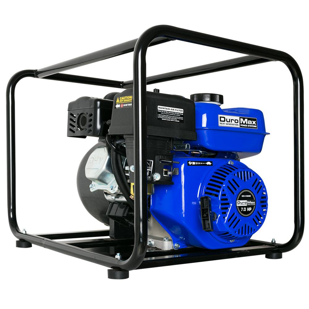 Duromax 7 HP 212 cc 255 GPM 3 in. Gas-Powered Chemical Pump