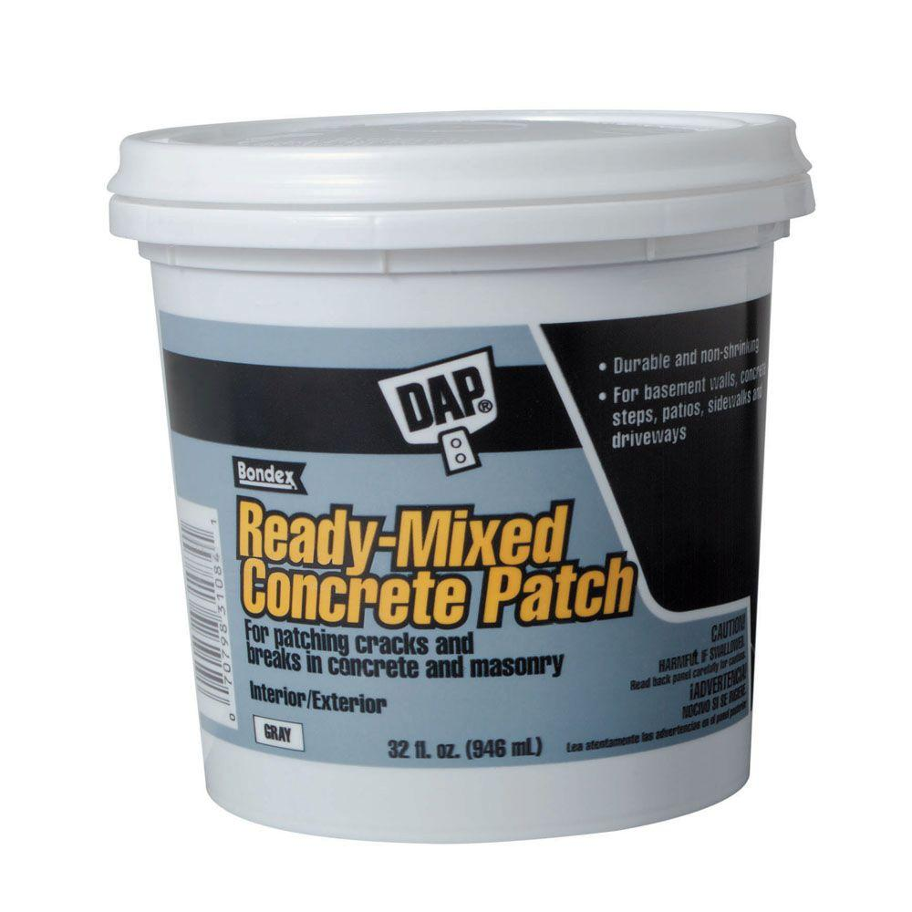 1 qt. Gray Ready-Mixed Concrete Patch