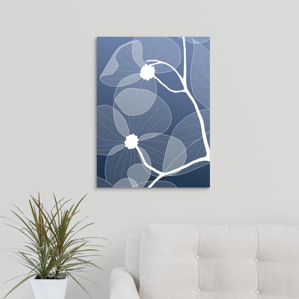 ''Floral 2'' by GraphInc Studio Canvas Wall Art
