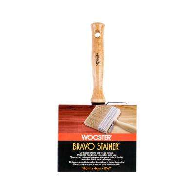 5-1/2 in. Bravo Stainer Bristle Brush
