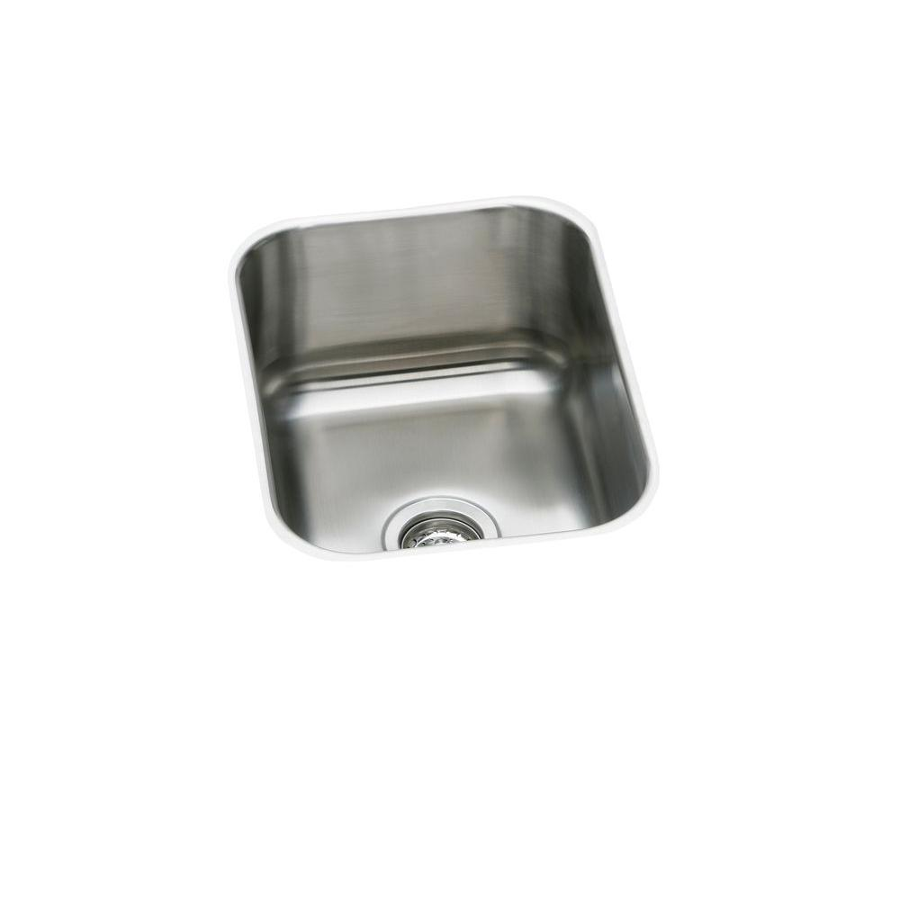 Signature Plus Drop-In/Undermount Stainless Steel 20 in. Single Bowl Kitchen