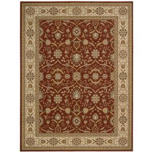 Nourison Persian Crown Malti Rose 1 ft. 11 inch x 2 ft. 11 inch Accent Rug by Nourison