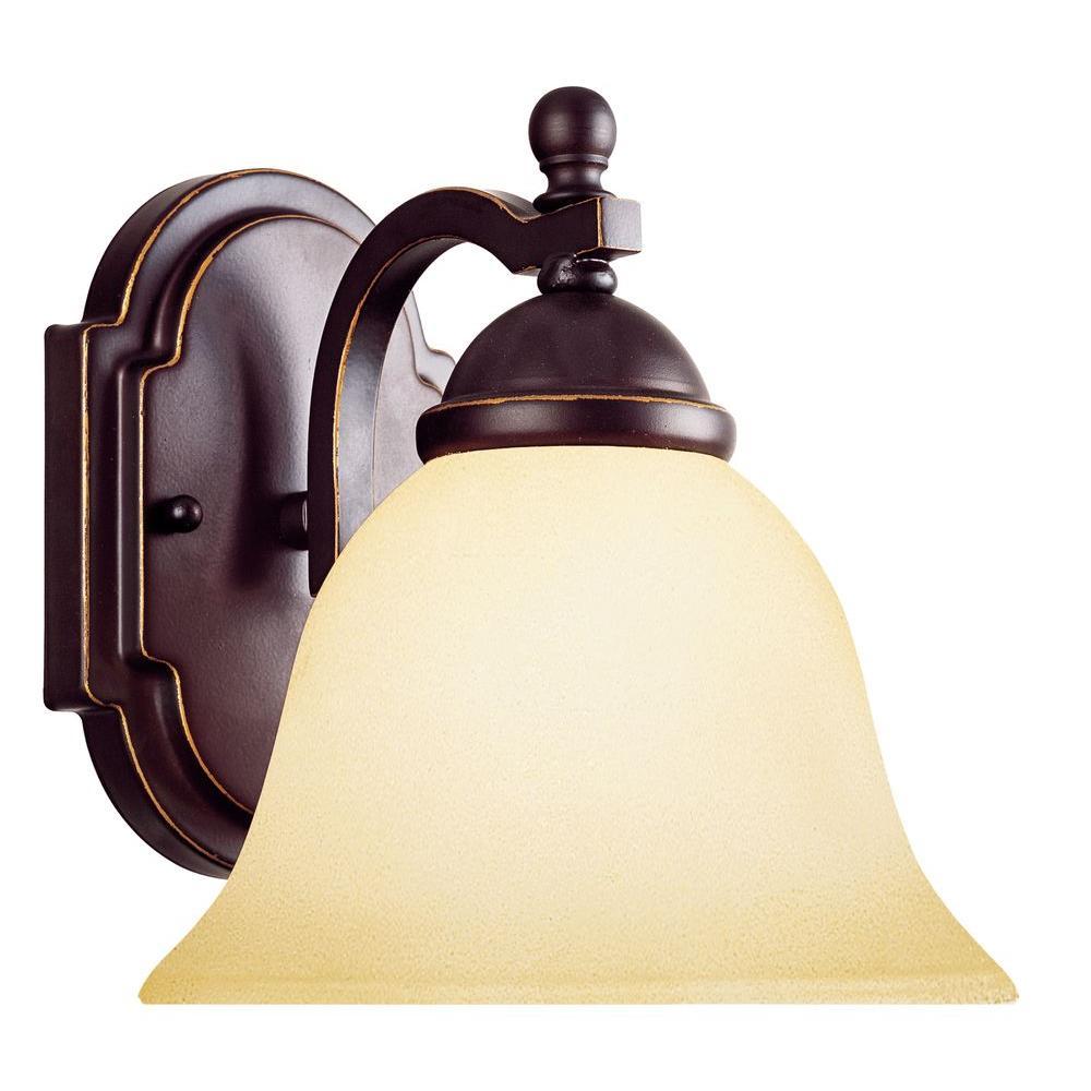 Illumine 1-Light Slate Wall Sconce