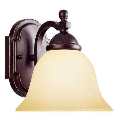 1-Light Slate Wall Sconce