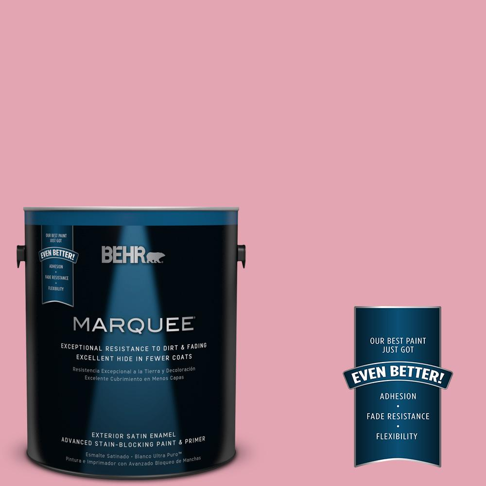 BEHR MARQUEE 1-gal. #P140-3 Love at First Sight Satin Enamel Exterior Paint