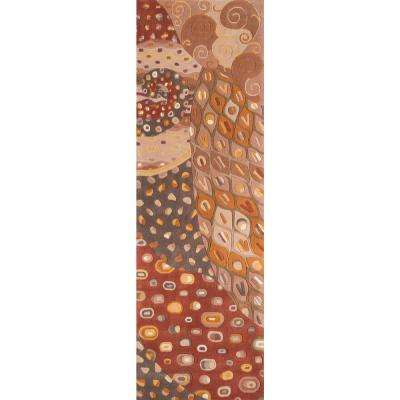 Contempo Natural 3 ft. x 12 ft. Indoor Runner Rug