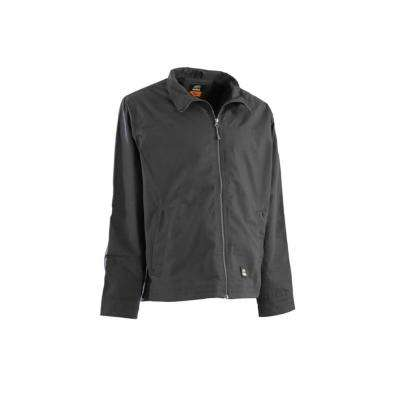 Men's Small Regular Slate Cotton and Polyester Lightweight Ripstop Jacket