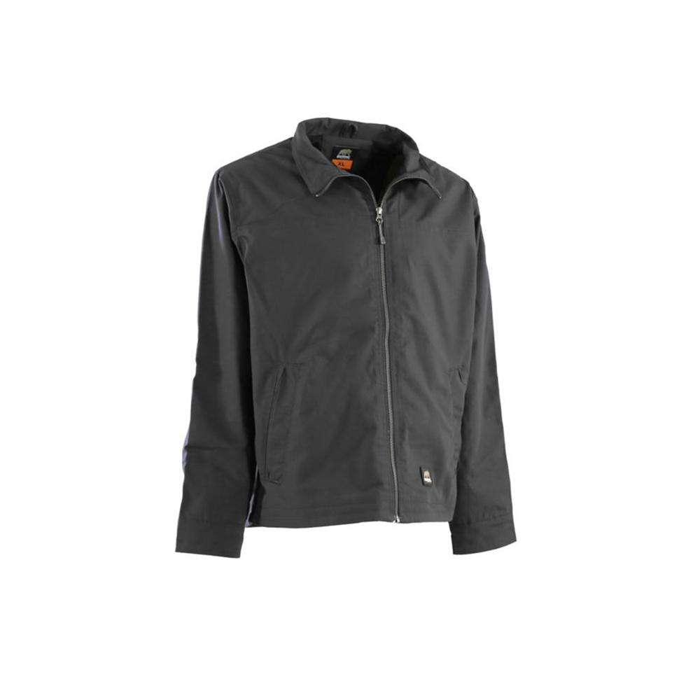 69c65ada2 Berne Men's XX-Large Tall Slate Cotton and Polyester Lightweight Ripstop  Jacket