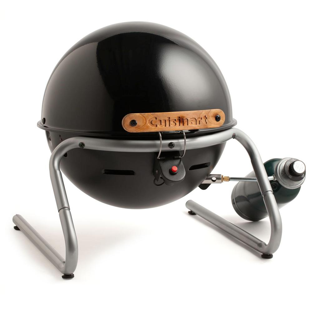 Searin Sphere Portable Propane Grill in Black