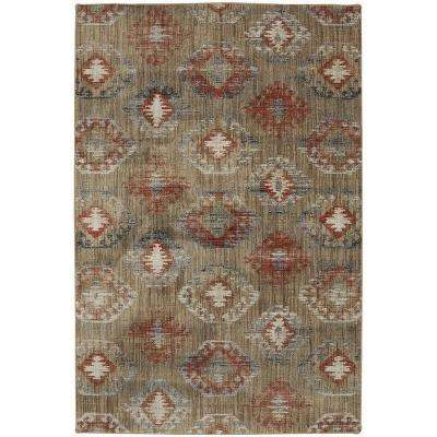 Ion Ginger 5 ft. x 8 ft. Indoor Area Rug