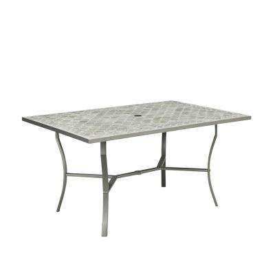 Concrete Patio Dining Tables Patio Tables The Home Depot