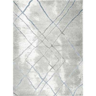 Roma Gray 5 ft. x 7 ft. Indoor Area Rug