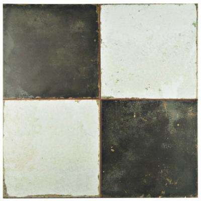 Kings Damero 17-5/8 in. x 17-5/8 in. Ceramic Floor and Wall Tile (11.1 sq. ft. / case)