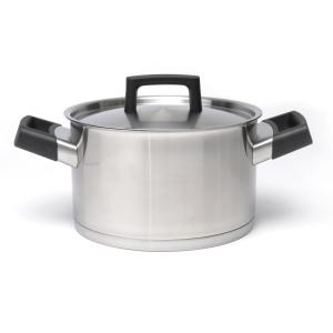 Click here to buy BergHOFF Ron 8 inch Stainless Steel Casserole Dish with Lid by BergHOFF.