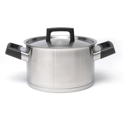 Ron 8 in. Stainless Steel Casserole Dish with Lid