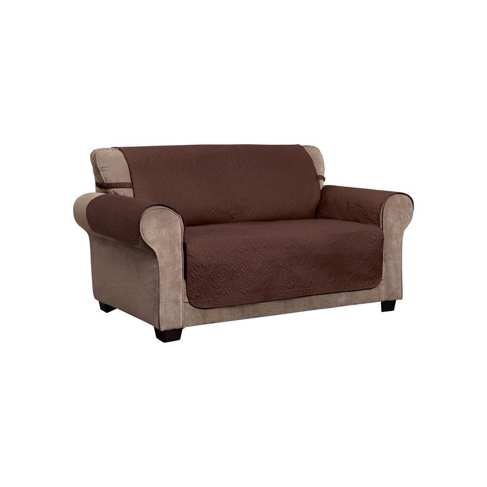 Peachy Innovative Textile Solutions Belmont Leaf Secure Fit Loveseat Coffee Furniture Cover Slipcover Gmtry Best Dining Table And Chair Ideas Images Gmtryco