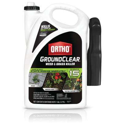 GroundClear 1 gal. Ready-to-Use Weed and Grass Killer