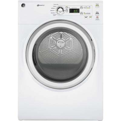 7.0 cu. ft. 240-Volt White Stackable Electric Vented Dryer