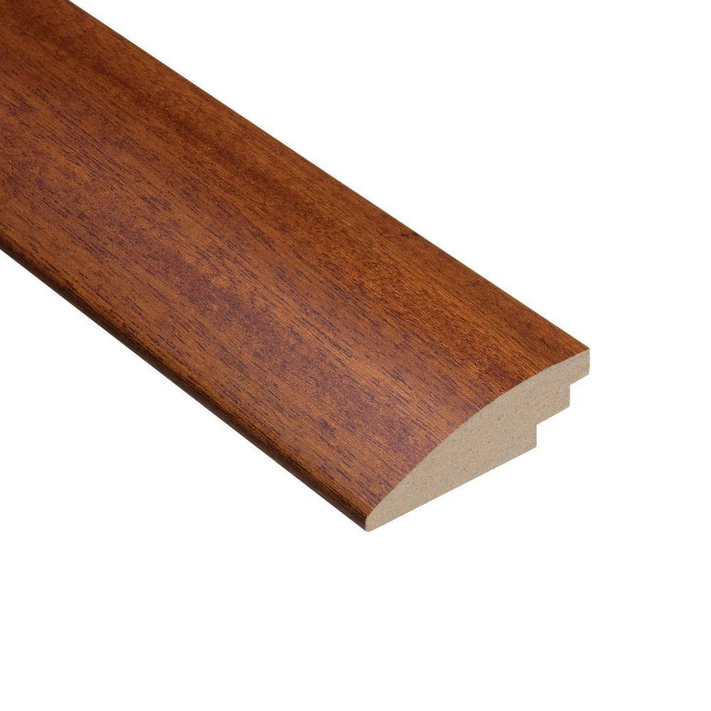 Home Legend Mahogany Natural 3/8 in. Thick x 2 in. Wide x 78 in. Length Hardwood Hard Surface Reducer Molding