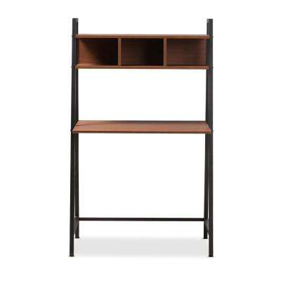 Ethan Brown and Black Writing Desk