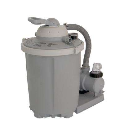 FlowXtreme AG75F 3/4 HP Above Ground Pump and Sand Filter System