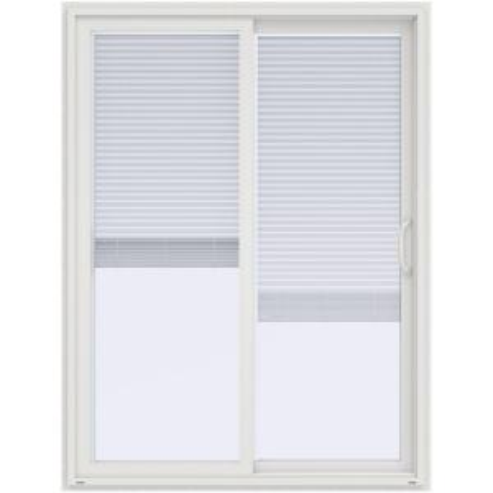 60 in x 80 in v 4500 white prehung right hand sliding vinyl - 60 Patio Door