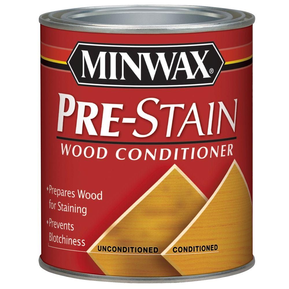 minwax 1 qt oil based pre stain wood conditioner