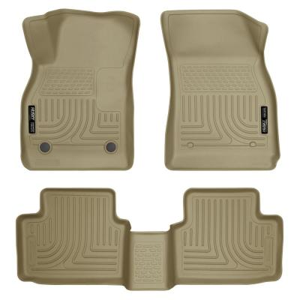 Coverking Custom Fit Front Floor Mats for Select Lincoln Town Models Black Nylon Carpet