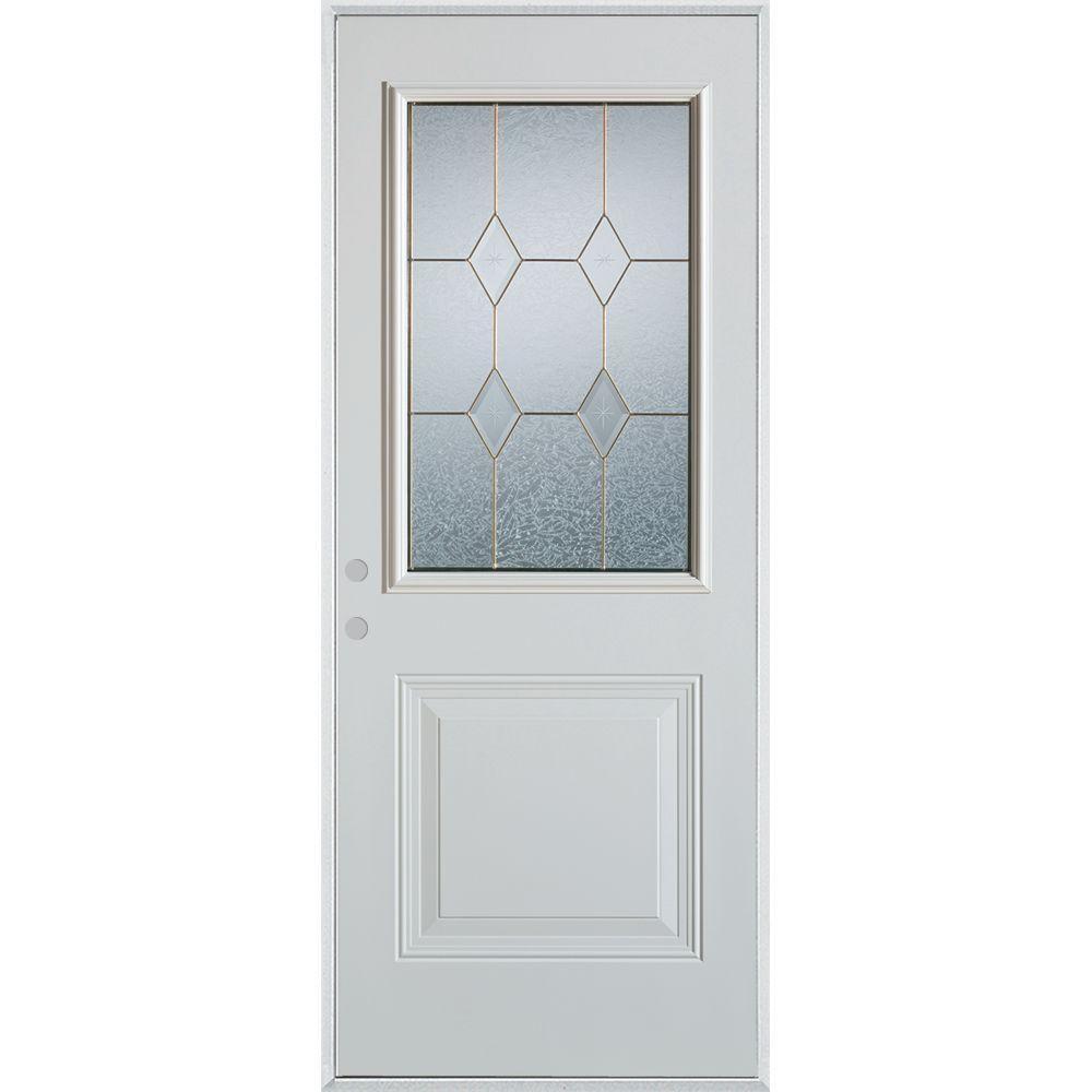 Stanley Doors 37375 In X 82375 In Geometric Brass 12 Lite 1