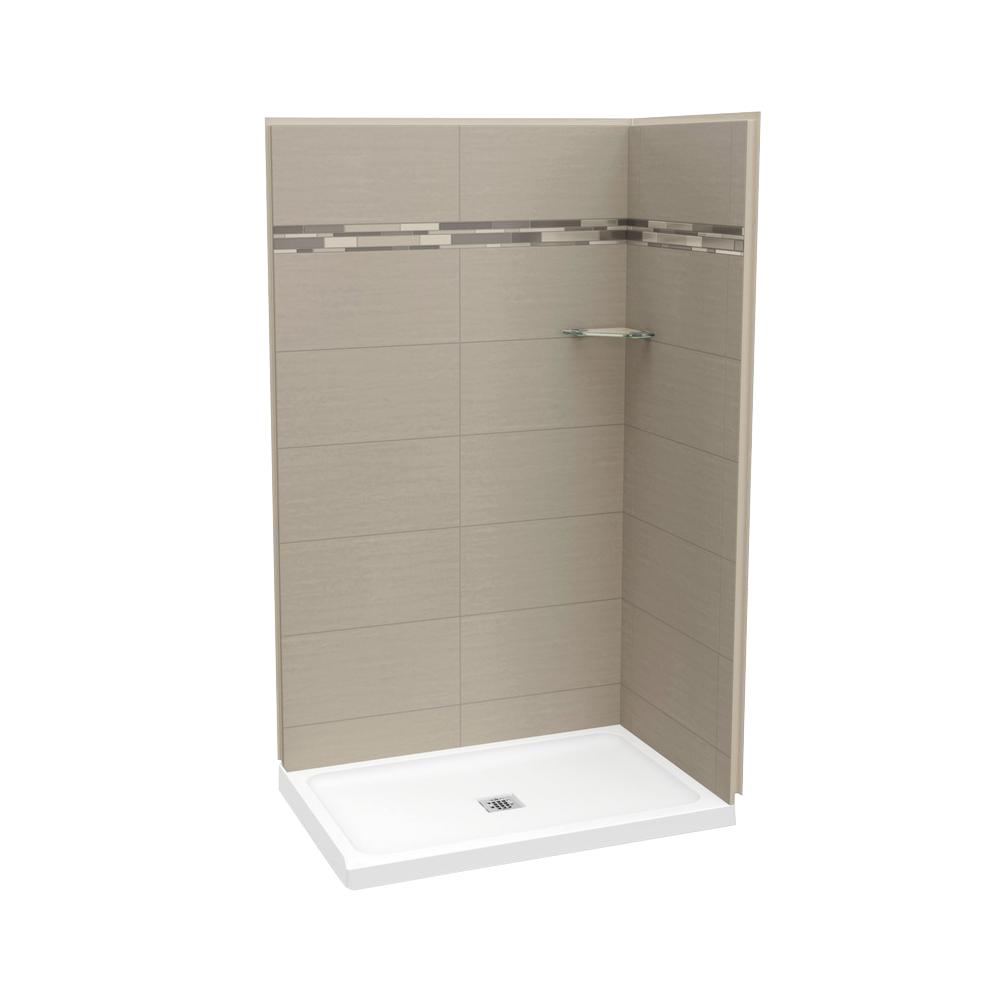 MAAX Utile Origin 32 in. x 48 in. x 83.5 in. Corner Shower Stall in ...
