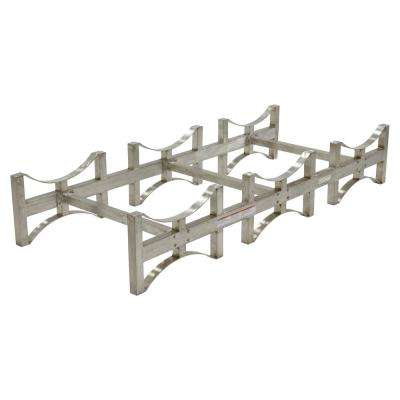 3 Drum 55 Gal. Stainless Steel Stackable Drum Rack